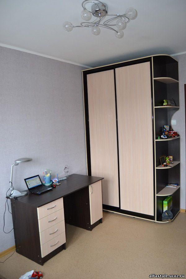 Фото: компьютерный стол, кровать, комод, офисная мебель, меб.